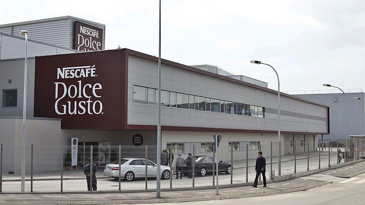 La fàbrica de Dolce Gusto de Girona, en una imatge d'arxiu.    ANIOL RESCLOSA