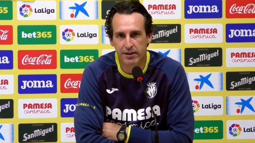 Emery anuncia cambios en el once titular del Villarreal ante Osasuna