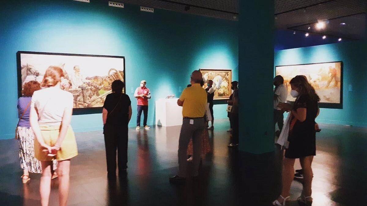 Visita en el Museo Ruso.
