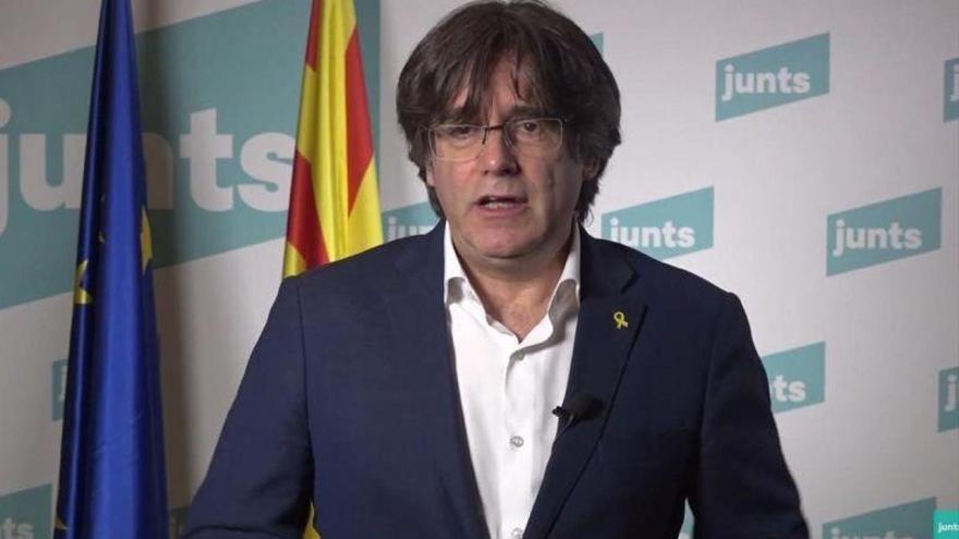 Puigdemont anuncia un recurso ante el TJUE para impedir el levantamiento de su inmunidad
