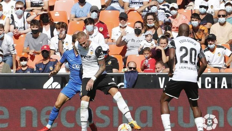 Pon nota a los jugadores del Valencia CF contra el Mallorca