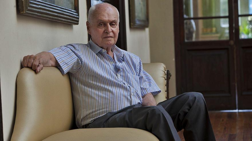 Felipe Baeza, espíritu libre y  polémico en las filas de la derecha canaria