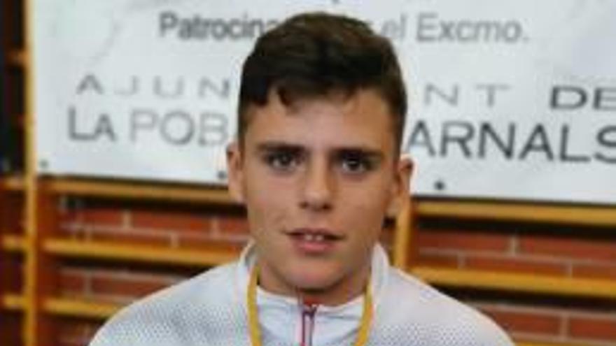 Miguel Jordá debuta en cadetes con un  2º puesto provincial
