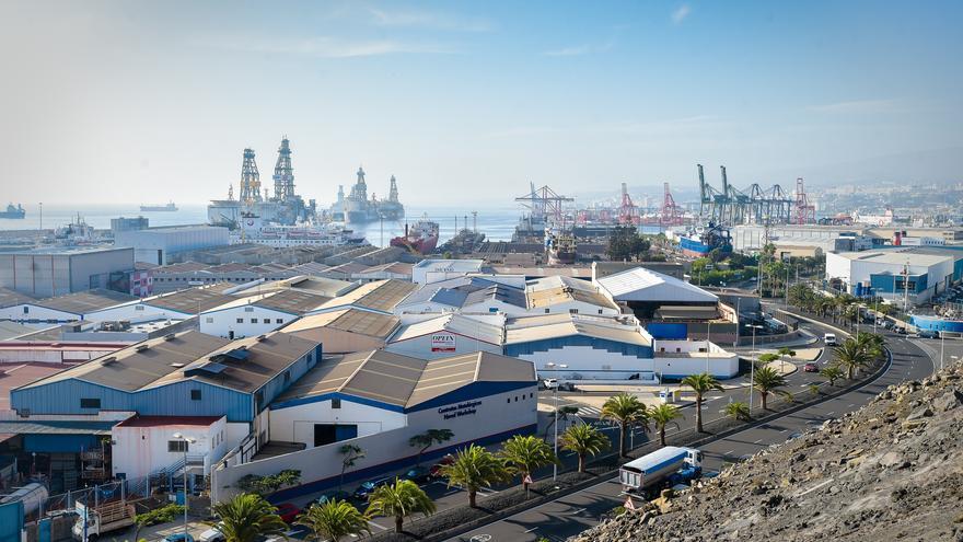 Los Puertos de Las Palmas crecen un 5,39% desde el año previo a la pandemia