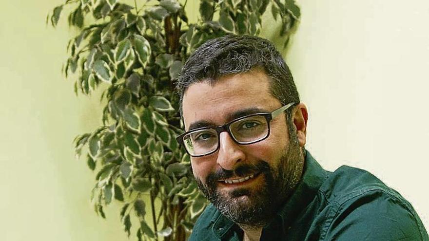Francisco Alonso durante la entrevista.