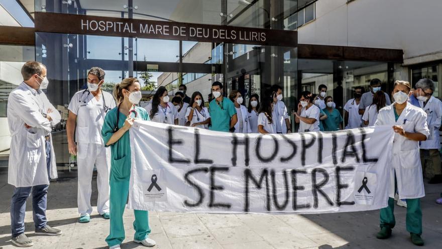 Los médicos del departamento de Salud de Alcoy mantienen las protestas para exigir mejoras