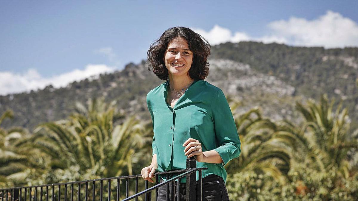 María Macaya, hace dos años en Mallorca.