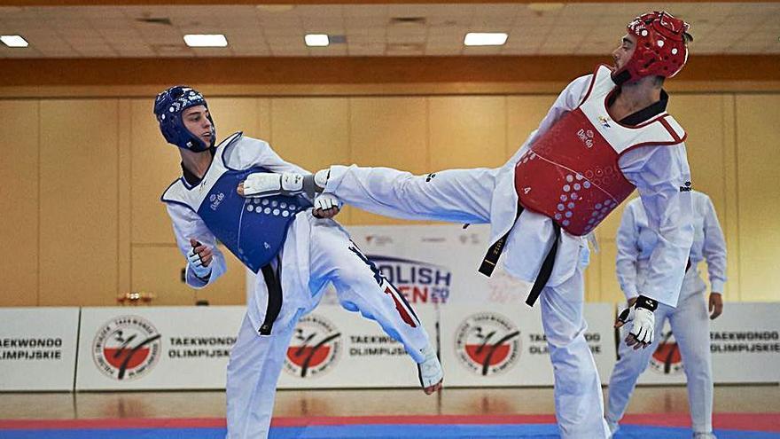 El taekwondista Ramon Ruiz es queda a quarts de final a Turquia