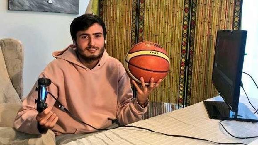 Pablo Ferreiro, del Coruña, campeón del Torneo Autonómico NBA 2K20