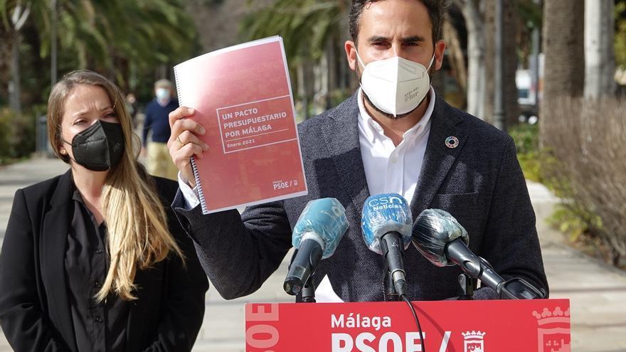 El PSOE pide al PP un mayor esfuerzo para lograr un pacto presupuestario en Málaga