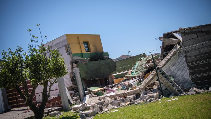 Explosión en una vivienda de La Laguna