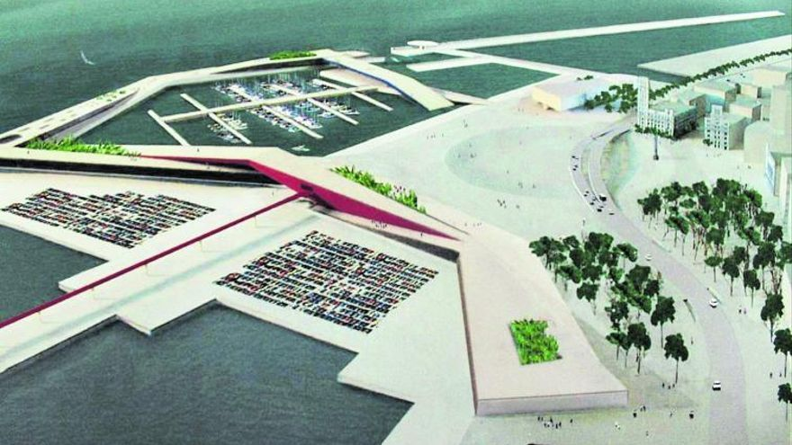 Puertos plantea terminar la última fase de la plaza de España con dinero público