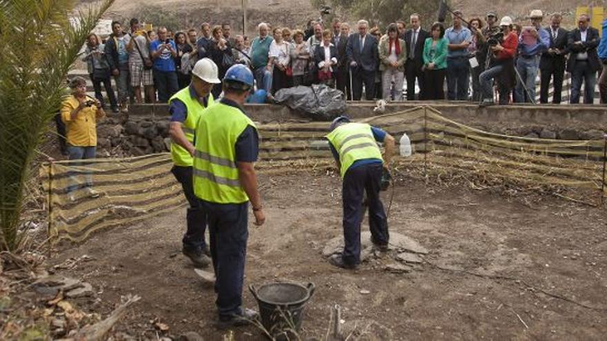 Canarias tendrá un protocolo de exhumación de restos de desaparecidos