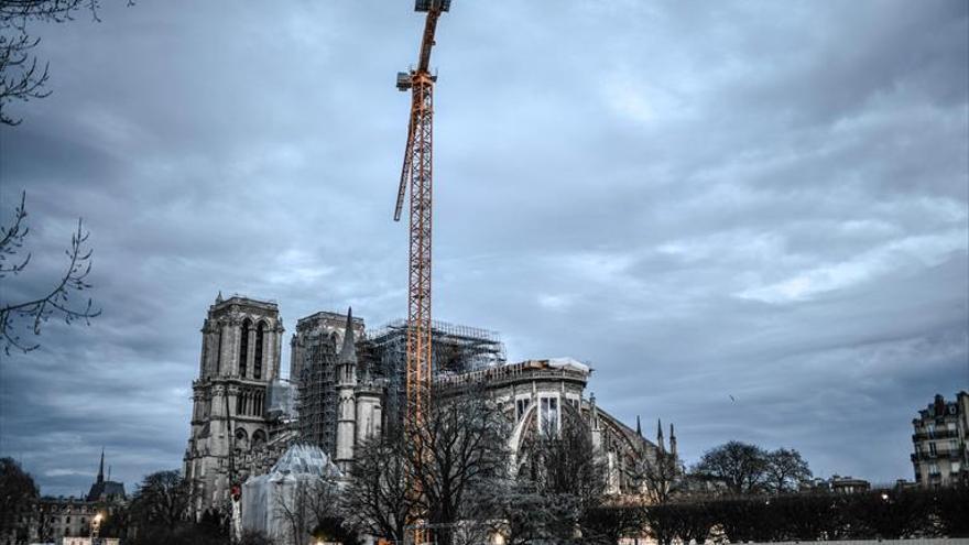 Los científicos se vuelcan en la reconstrucción de Notre Dame