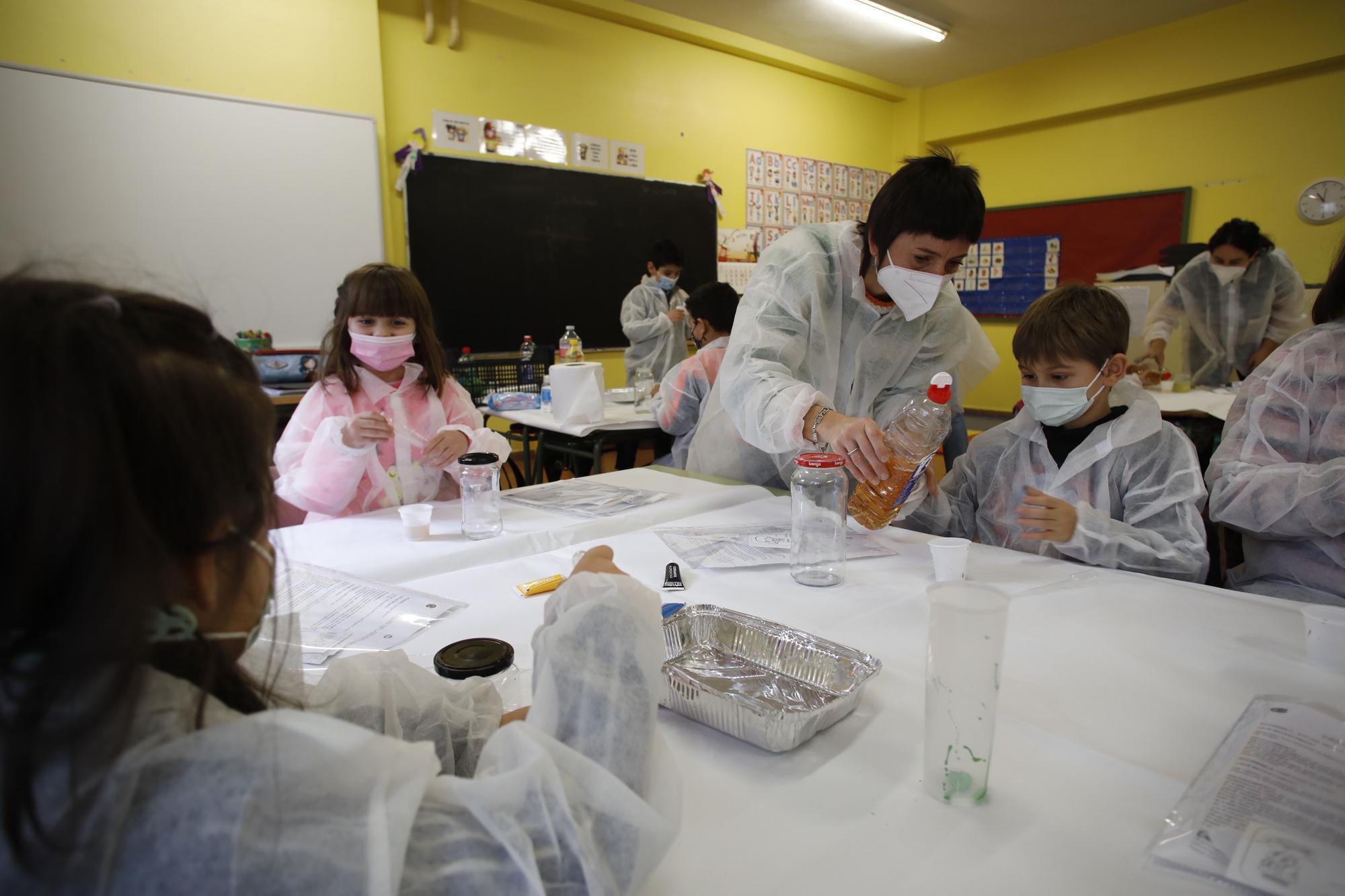 Jornadas de Ciencia en el colegio Cervantes