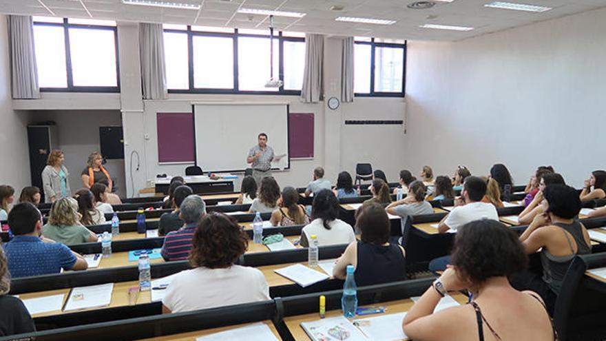 4.291 docentes se presentan a las oposiciones para cubrir 1.070 plazas públicas