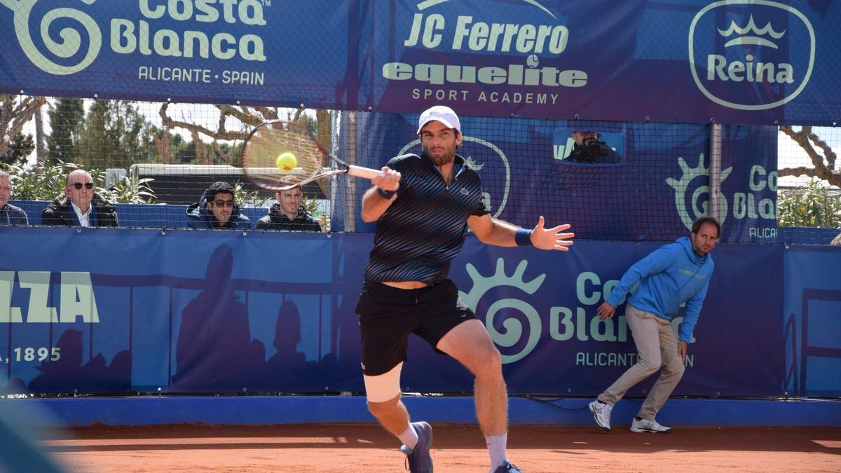Un partido del torneo de Ferrero el año pasado