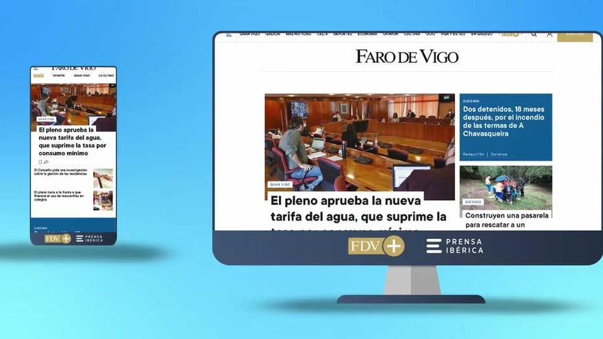 Faro de Vigo estrena nueva web con un diseño más visual e intuitivo