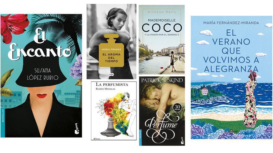 Seis novelas muy entretenidas y recomendables para amantes del perfume