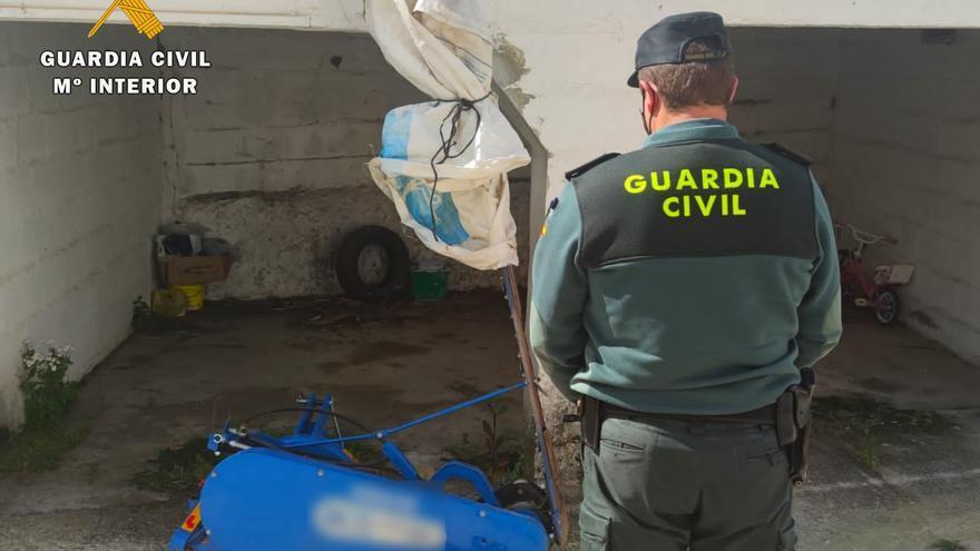 Detenido en Villanueva un acusado de robar en Cardeña una máquina agrícola de más de 6.000 euros