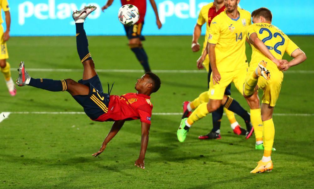 Liga de Naciones: España- Ucrania