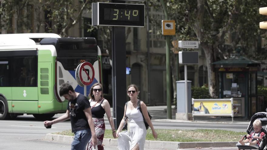 El tiempo en Mallorca: El calor extremo se instala en la isla hasta el lunes
