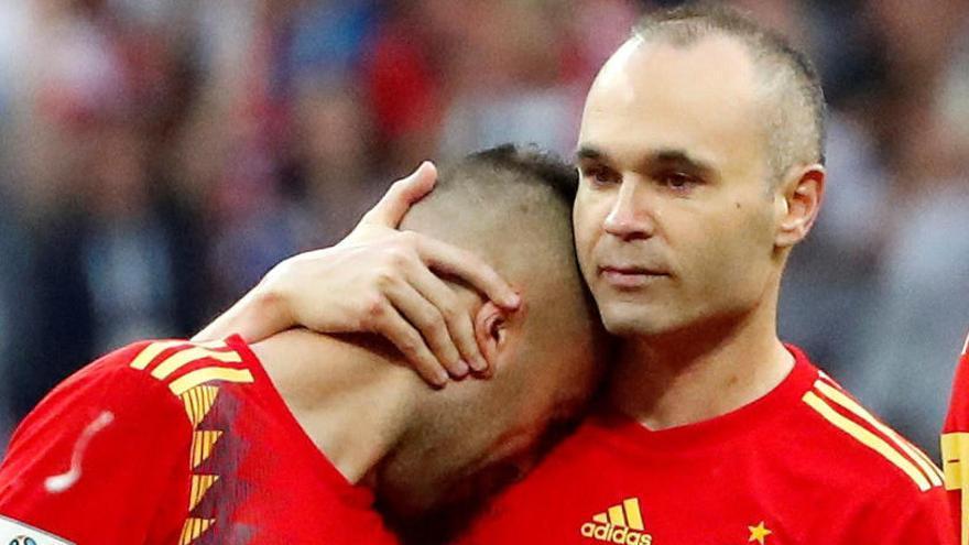 """Iniesta: """"Hierro no tenía argumentos para sentarme en Rusia, me sentí puteado"""""""