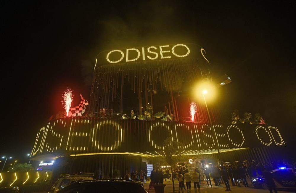 Inauguración del centro de ocio Odiseo en Murcia