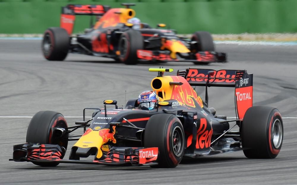 Las mejores imágenes del GP de Alemania de F1.