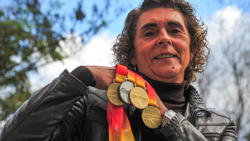 Tres oros para Ana Abuín entre la élite nacional