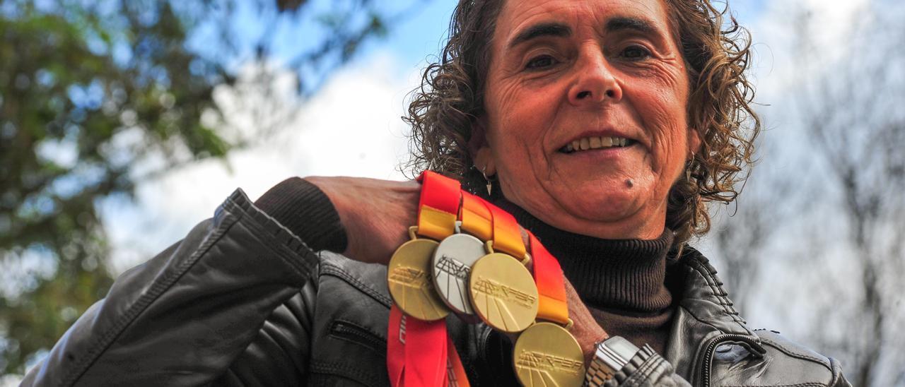 Ana Abuín suma otros tres títulos de campeona de España a su envidiable palmarés.