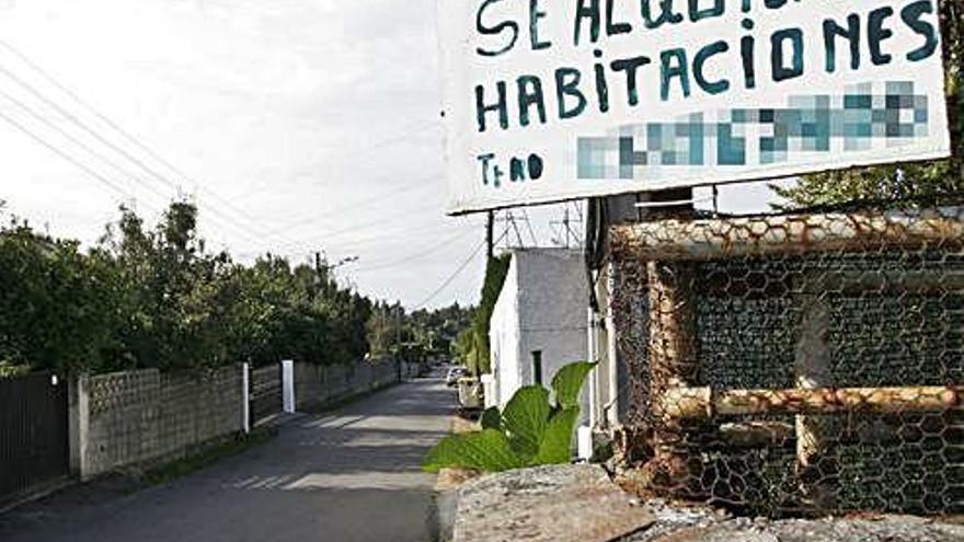 Cambio de perfil en las infraviviendas de A Zapateira: de estudiantes a parados