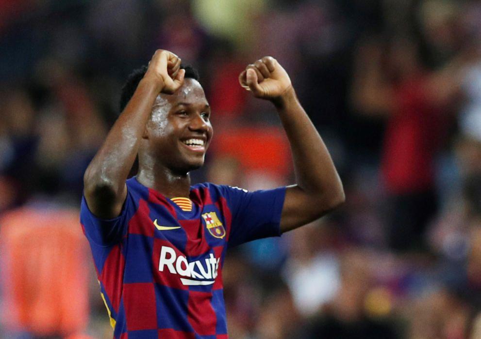 Las mejores imágenes del Barcelona - Betis.