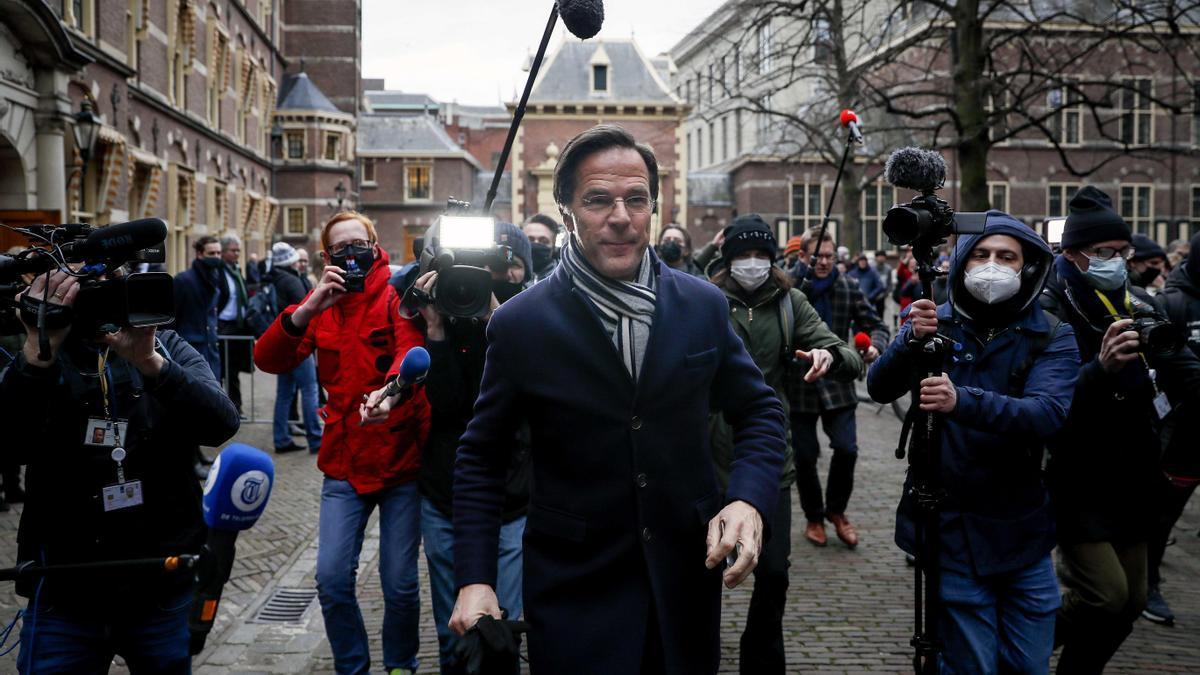 El exprimer ministro de Países Bajos, Mark Rutte