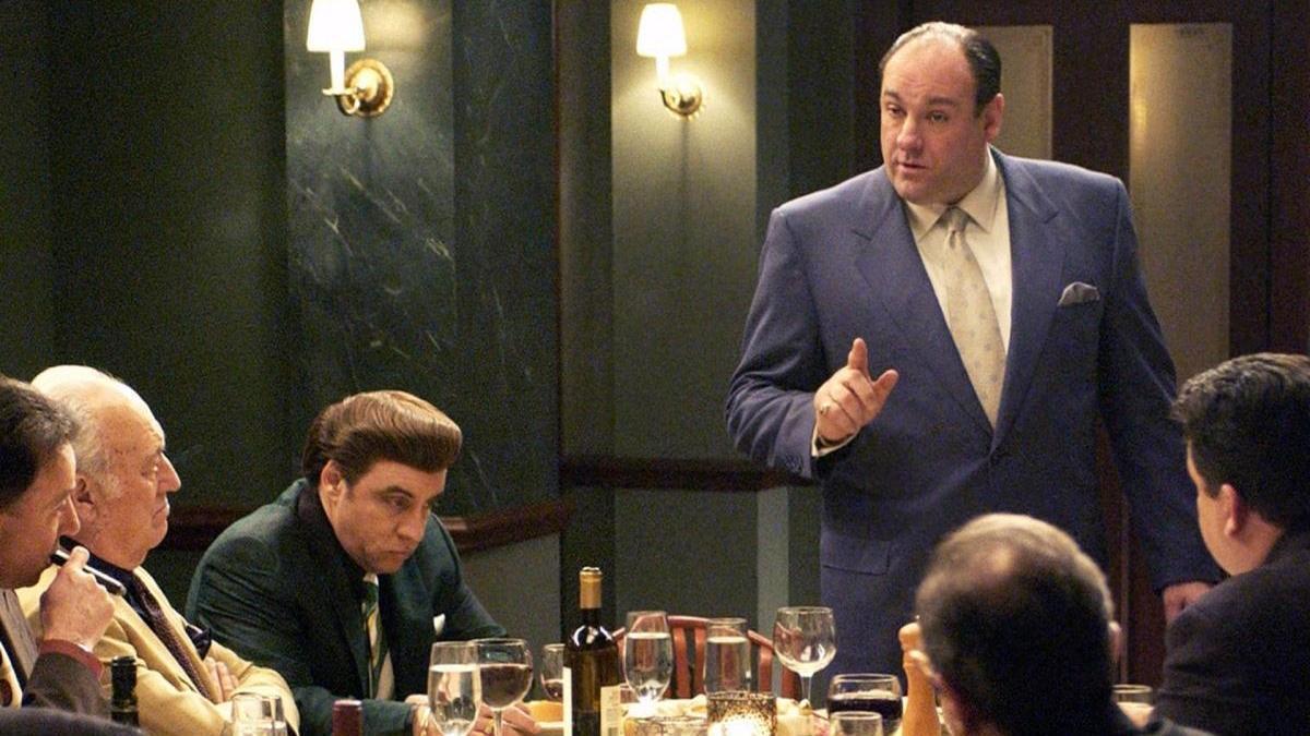 Fotograma de 'Los Soprano'.