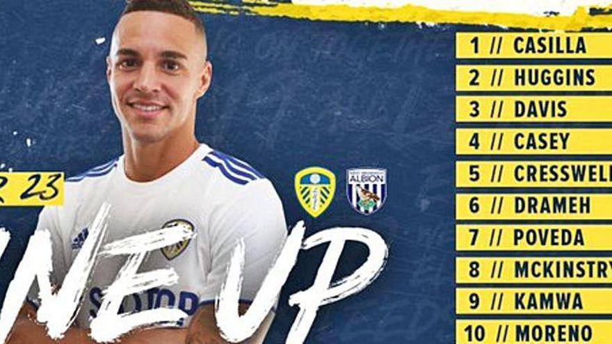 Rodrigo debuta con el filial del Leeds