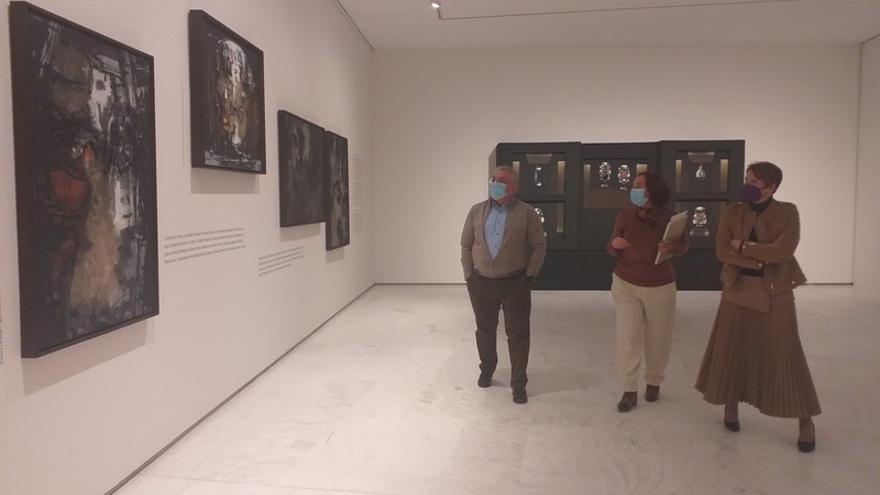 Juana Francés vuelve a mostrarse en el MACA
