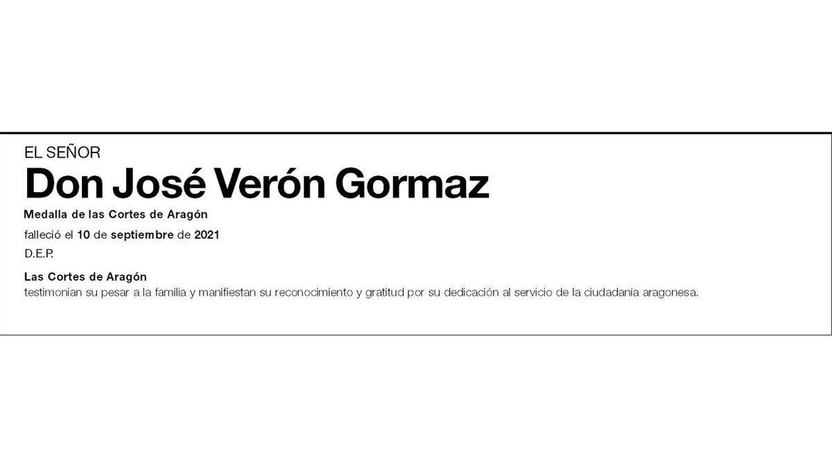 José Verón Gormaz,