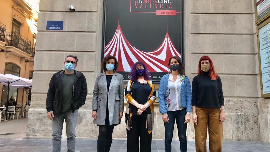 Malabares, acrodanza y telas aéreas llegan este sábado a las calles de València con 'La Nit del Circ Valencià'