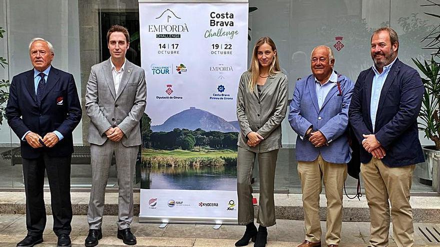 El golf monopolitzarà la Costa Brava el proper mes d'octubre