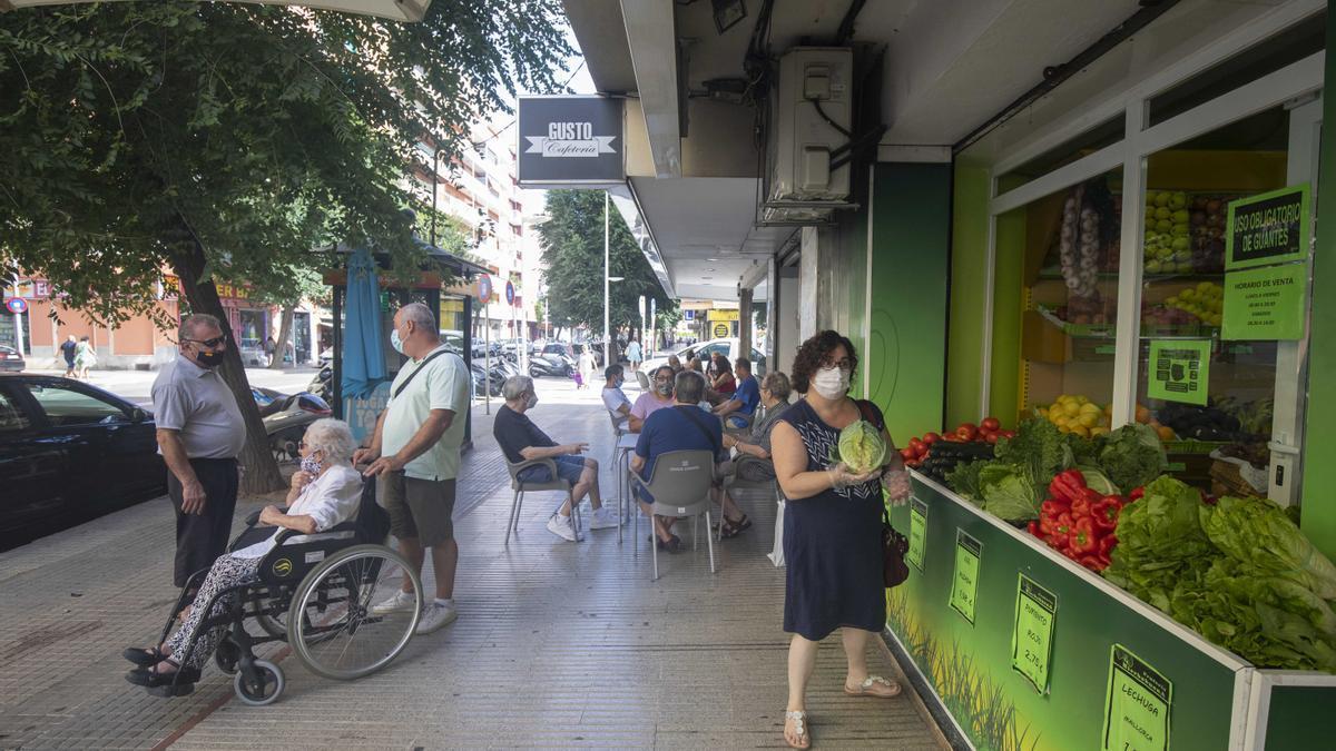 Tranquilidad fuera de lo normal en la zona confinada de Arquitecte Bennàssar