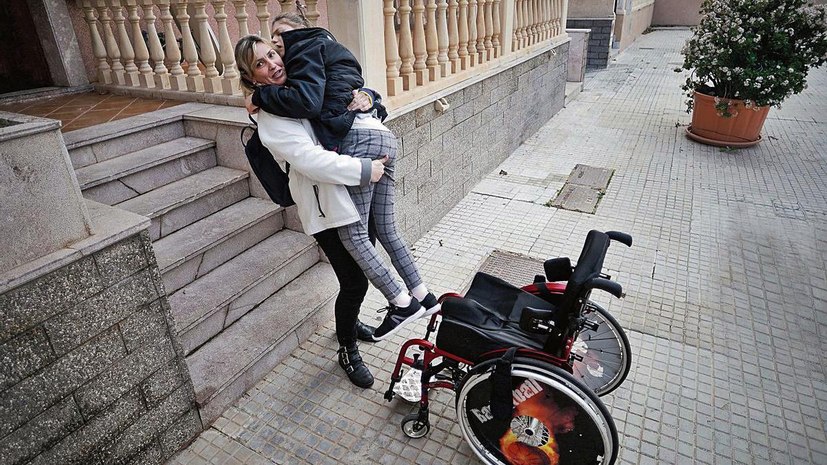 Alba tendrá una rampa tras ocho años de espera