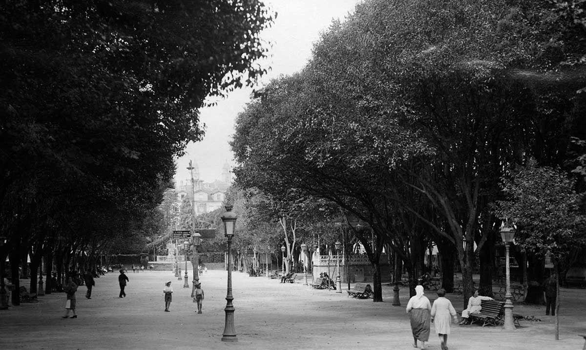 Paseo de la Alameda 1920 -193