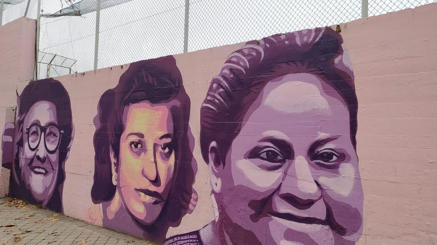 El mural que sobrevive al odio de los Roquefélez