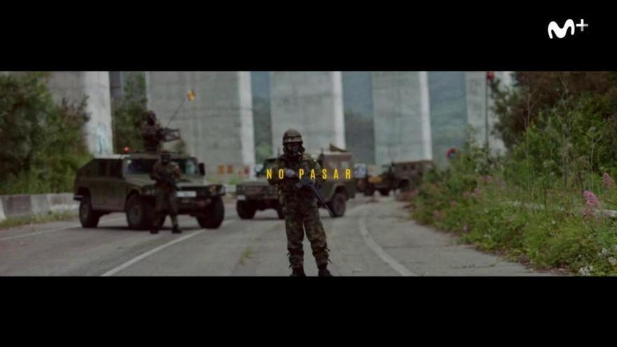 "Asturias ya es Chernóbil: primer tráiler de ""La Zona"""