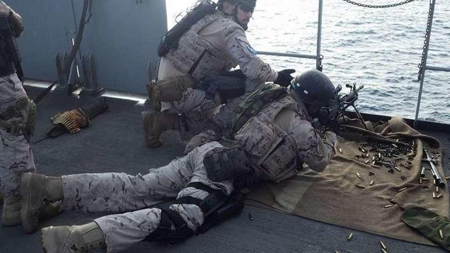 """El """"Patiño"""" encara su tercera misión en la """"Atalanta"""" contra la piratería en el Índico"""