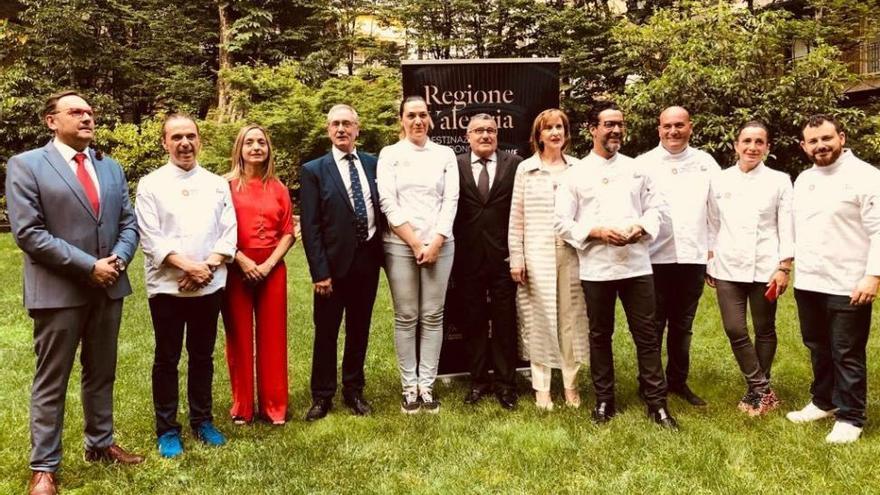 Raúl Resino promociona los productos de Castellón en el mercado italiano