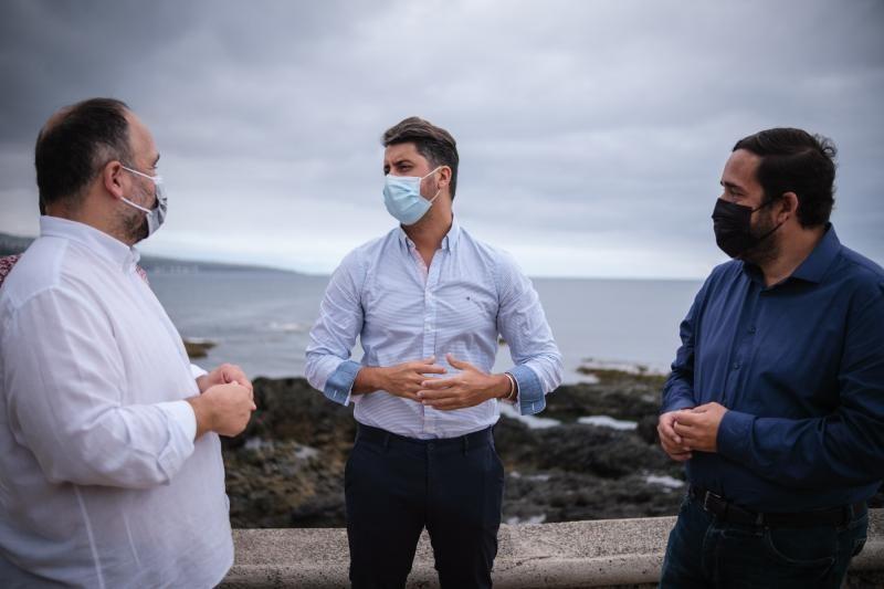Luis Yeray Gutiérrez y José Antonio Valbuena visitan La Punta
