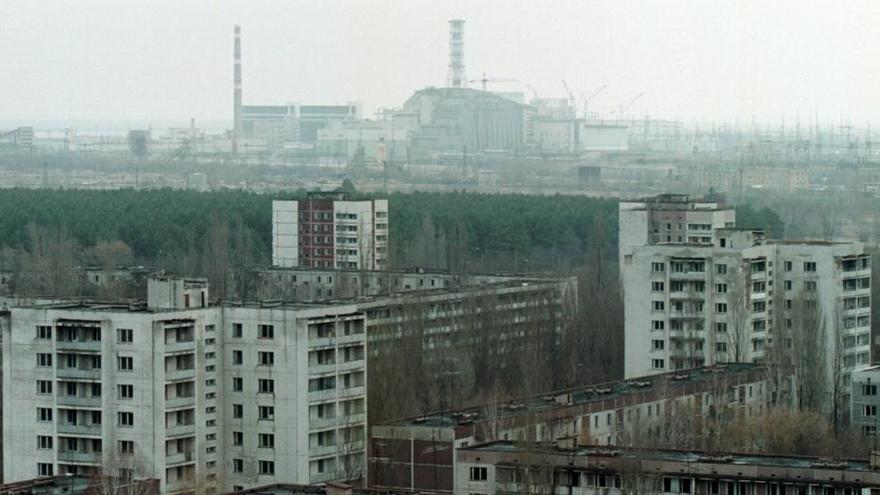 Un incendio de 10 días ya extinguido afecta a Chernóbil