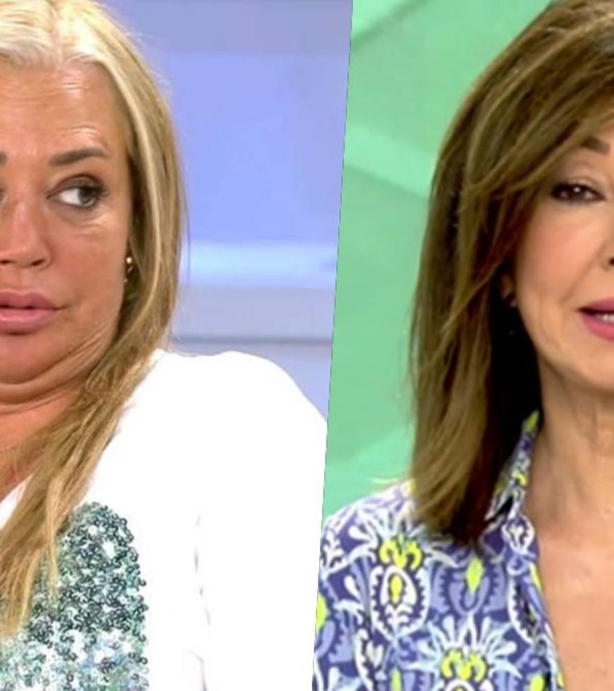 """Belén Esteban, tras las palabras de Ana Rosa sobre la entrevista a Antonio Canales: """"Me han sentado mal"""""""